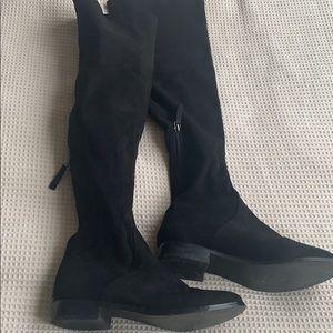 Steve Madden Over the knee black boots size 6